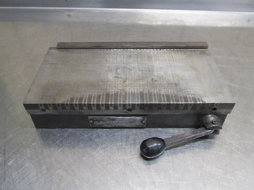 """O.S Walker 12"""" x 6"""" Magnetic Chuck Magnet Manual Switch Surface Grinder Grinding"""