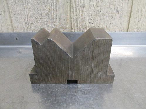 """7"""" x 3"""" x 4"""" Steel Machinist V-Block Setup Block Fixture"""