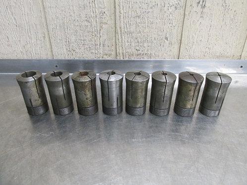 """Hardinge 3J Collet Metal Lathe Collets 1/4"""" 3/8"""" 1/2"""" 5/8"""" 3/4"""" 7/8"""" 1"""" 1-1/4"""""""
