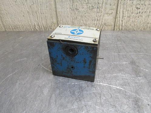 Sperry Vickers DG4S4-016C-50 Directional Control Solenoid Valve Block NO COILS