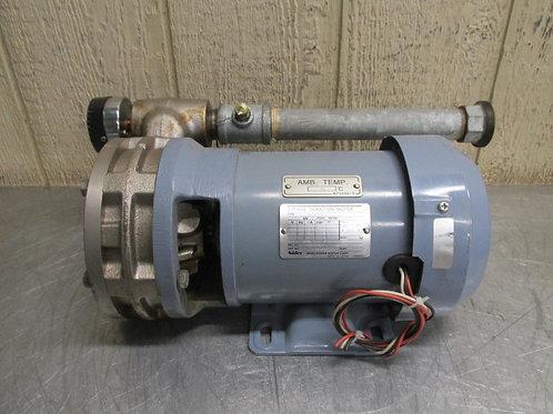 Nidec FELQ-8TU Pump Centrifugal 1 HP 3 PH 200/220v .75 Kw