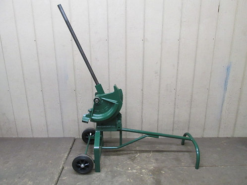 """Greenlee 1801 Mechanical Pipe Conduit Bender Portable 1-1/4"""" to 1-1/2"""""""