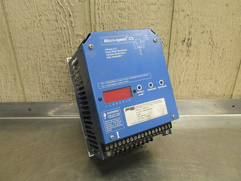 Micro-Speed CX M546CXH AC Motor Drive Inverter Variable Frequency VFD 5 HP 3 PH