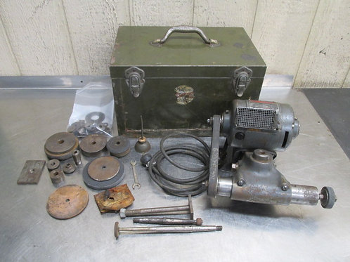 Dumore No. 5 Lathe Tool Post Grinder 1/2 HP 6,500 RPM - 42,500 Spindle