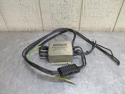 Schaffner FS3749-16-03-7 Line Filter 3X600VAC 16A 16 Amp