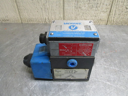 Vickers PA5DG4S4LW-012A-B-60 Hydraulic Directional Control Solenoid Valve