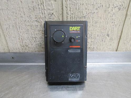 Dart Controls 250 DC Motor Drive Speed Control 90/180v 115v Input 1/4 - 2 HP