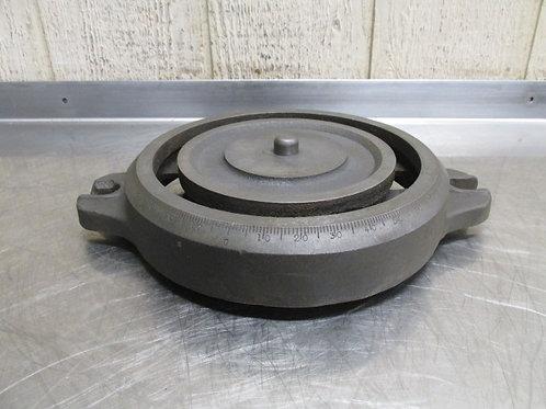 Machinist Vise Swivel Base Plate Bracket Vintage Vice Craftsman? Bridgeport?