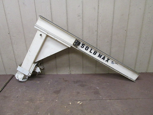 Coffing Hoist I-Beam Jib Crane Corner Mount Swivel Base 350 lbs Capacity