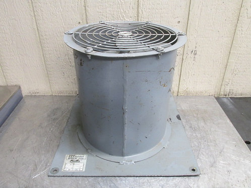 "12"" Fanex Model 15L Tubaxial Blower Fan Ventilation 18"" Shroud Heat Exchanger"