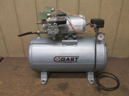 Gast 3HBB-69T-M300X Air Compressor Tank Mounted 115v 1 PH