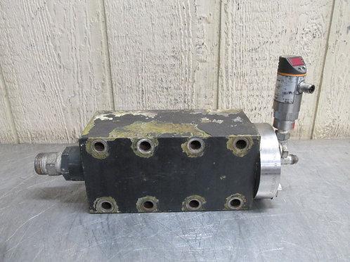 Hammelmann HDP 63 High Pressure Pump Head Valves Block 006.139394 for repair