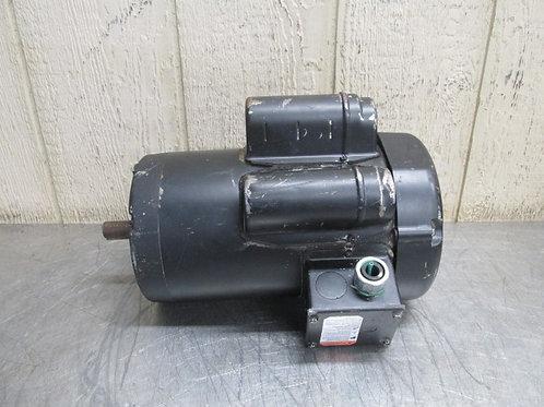 Leeson 120728.00 Electric Saw Motor 3450 RPM 3 HP 1 PH 230v Single Phase