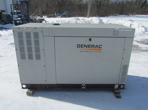 2010 Generac QT03624ANAX Propane/Natural Gas Standby Generator 36 Kw 61 HOURS!!