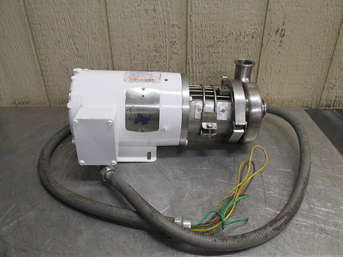 Waukesha C114 Stainless Steel Food Grade Sanitary Centrifugal Pump 1 HP 148 GPM