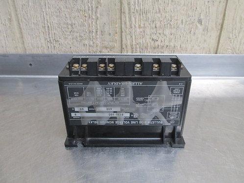Allen Bradley 813S-V0C Solid-State Line Voltage Monitor Relay 600v 3 PH