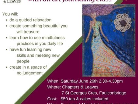 Mindfulness Thru Art Class