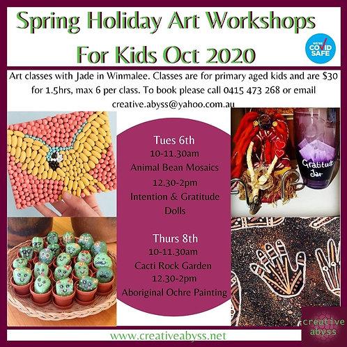 Spring Holiday Workshops For Kids