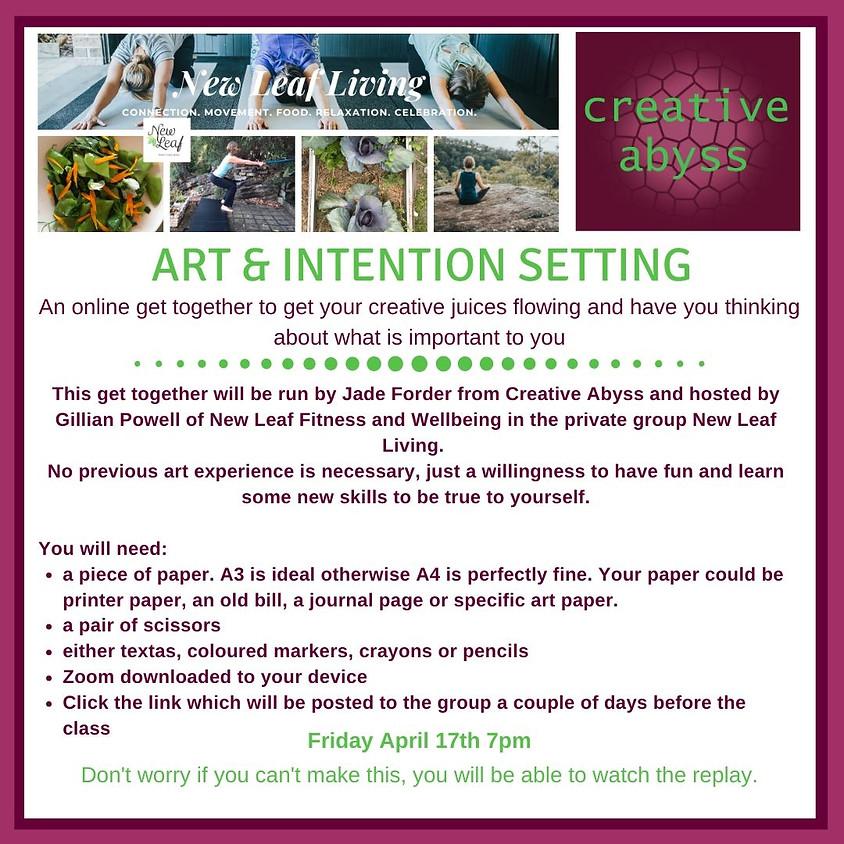 Mini Art Journaling - Intentions