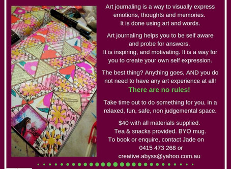 Intuitive Art Journaling Class