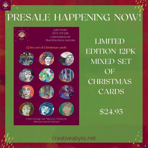 Goddess Amaterasu & Twinkle Twinkle Christmas cards