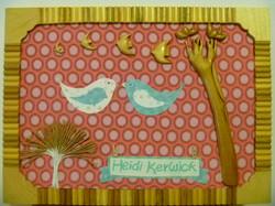 Heidi's Birds