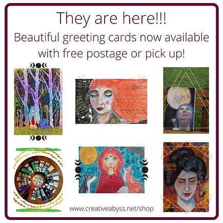 They are here!!! Beautiful greeting card
