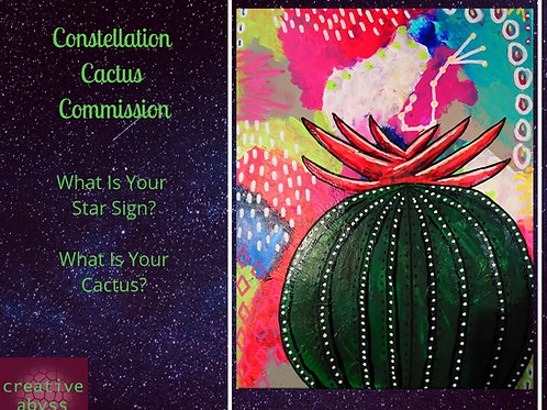 Constellation Cactus Commission