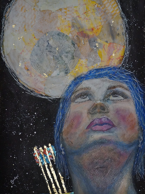 A4 Print - Goddess Artemis