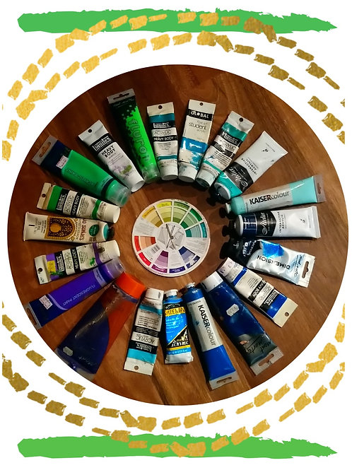 Gift Card - Paint Wheel
