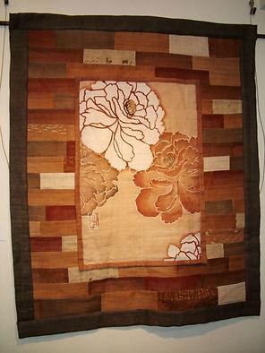 Quilted tapestry, Satiyo Koyama email.JP