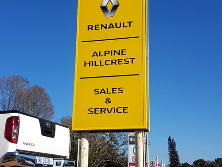 Alpine Renault Pylon Refurb
