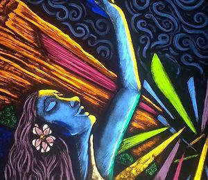 Send me back! #wsmfp #redrocks #postpanicdepression #erinndiekmanart #paintedglass #artconnectsus