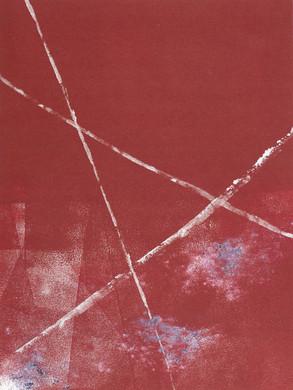 Intime - Monotype  30 x 40 cm