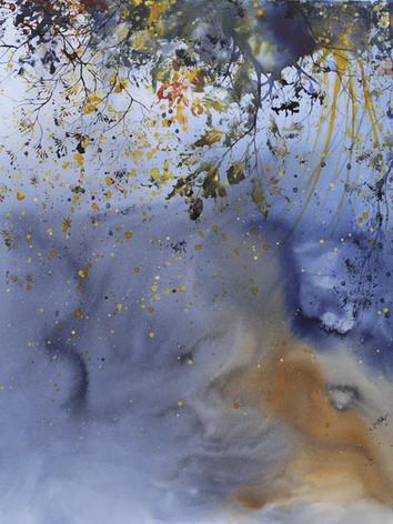 Automn Dream-Encre sur toile-90 X 90 cm.jpg