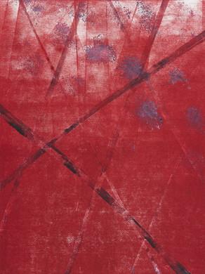 Amour - Monotype  30x40 cm