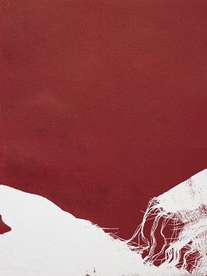 Déchirure - Monotype  30x40 cm