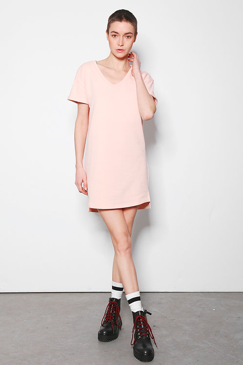 ALEX dress pale blush