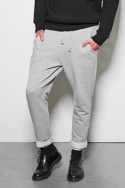 CHARLIE pants grey melange