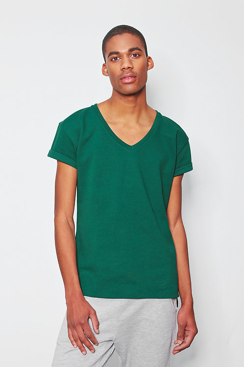 LEVI tee botanical green