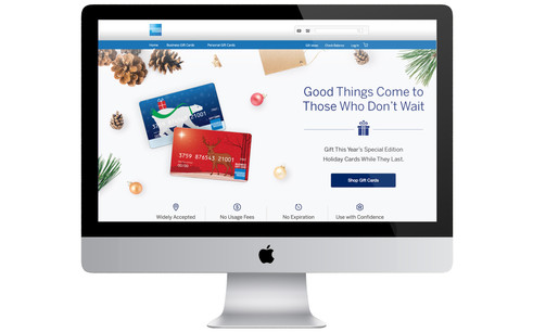 Burton Creative Design, American Express Gift, eCommerce, BOL