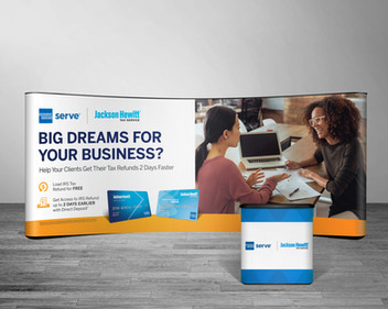 Jackson-Hewitt Amex Serve Tax Tradeshow