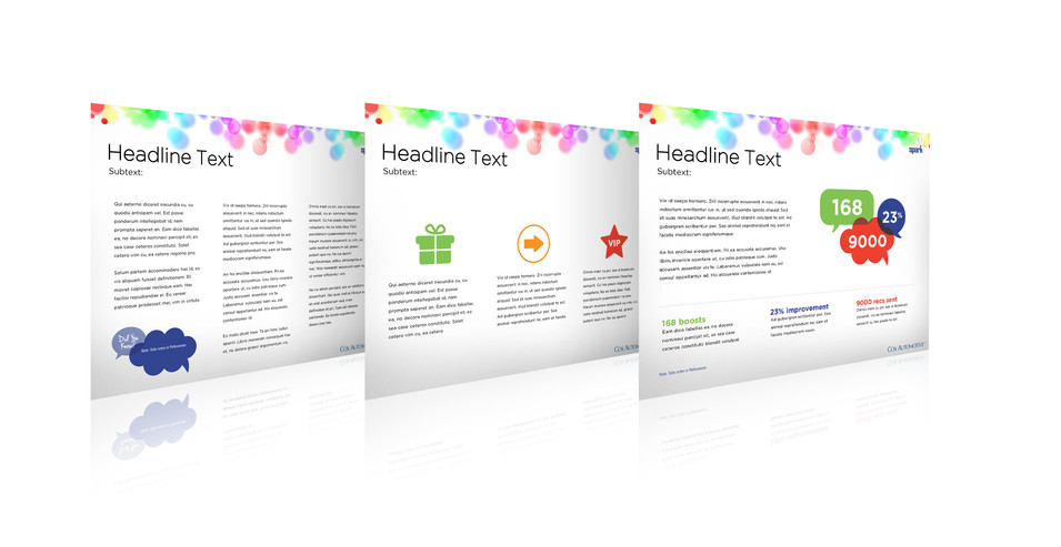 Burton Creative Design, Spark, Presentation Templates, Powerpoint
