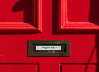 It doesn't have to be junk mail.