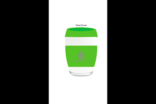 Green A-OK Glass Cups 340ml capacity