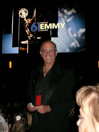 At the Emmy's before the beard