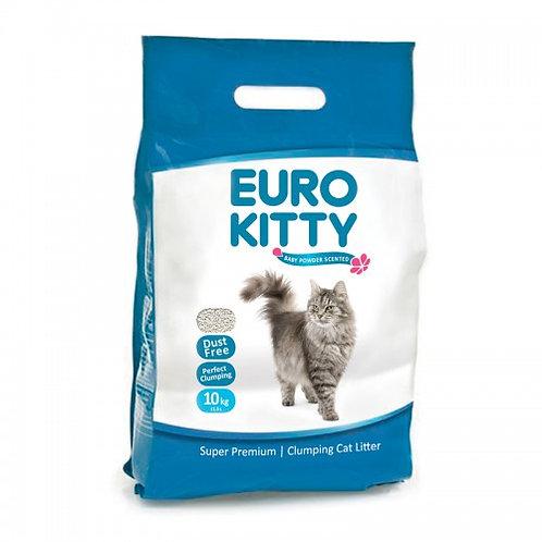 חול יורוקיטי מתגבש לחתול