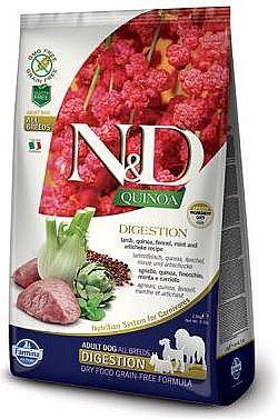 N&D קינואה שמירת משקל כבש כלב