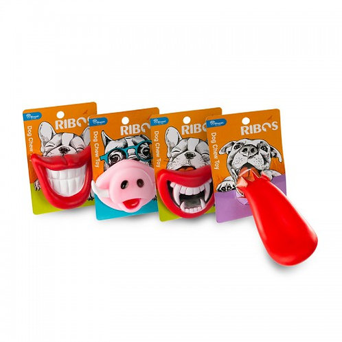צעצועי פה מצחיקים לכלבים