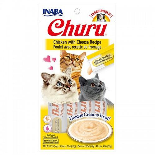 מעדן לחתול בטעם צ'ורו עוף עם גבינה